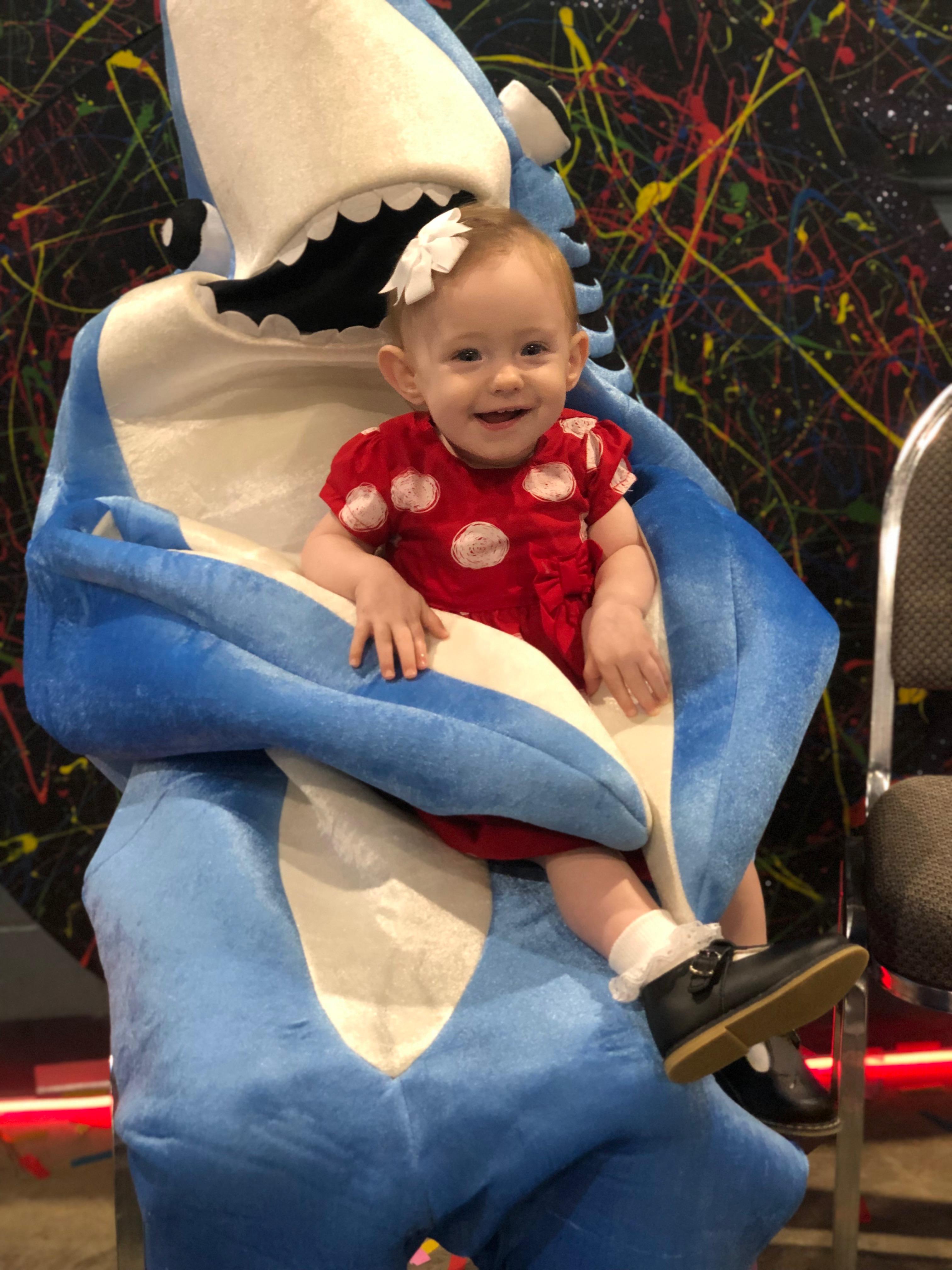 Sophia Kate & baby shark