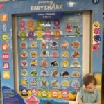 baby shark tablet toy
