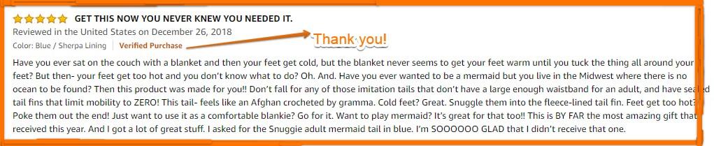 Mermaid Tail Blanket Reviews