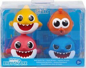 Baby Shark Bath ToysReview