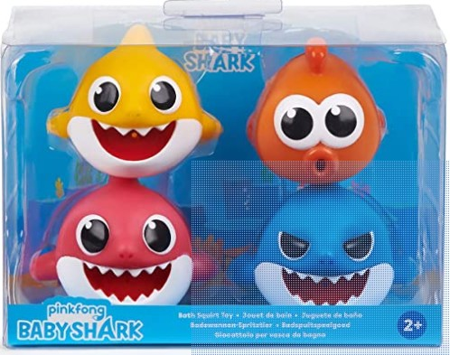 Baby Shark Bath ToysReview